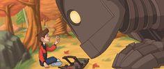 La Imaginación Dibujada: El gigante de hierro