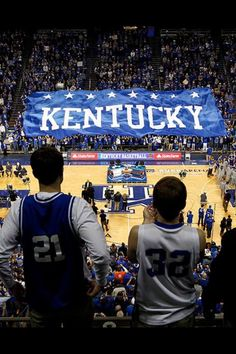 Kentucky!!! Even though I am a Louisville Cardinal fan, I think this is a beautiful sight as well!