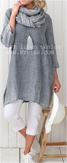 Casual Women Solid Color Plain Sleeve Dress What's Your Personality Potential? Take the Personality Test to discover your personality type, income & growth potential - Take TEST Now! Boho Outfits, Fashion Outfits, Womens Fashion, 3 4 Sleeve Dress, Mode Inspiration, Look Fashion, African Fashion, What To Wear, Casual Dresses