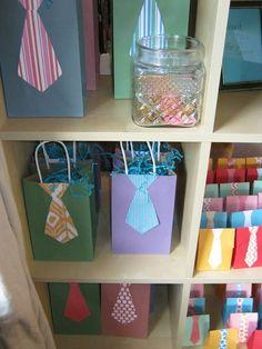 Little Man Party - cute party favor bags