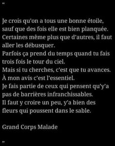 plus le courage Happy Quotes, Love Quotes, Inspirational Quotes, Positive Attitude, Positive Vibes, Words For Girlfriend, Jolie Phrase, Words Quotes, Sayings