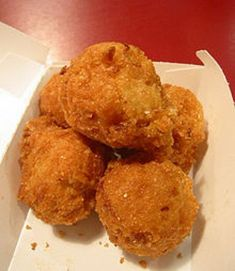 Hush Puppies are a delicious traditional southern food.