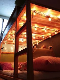 11 Unexpected Ways to Decorate Your Dorm With Holiday Lights | Her Campus                                                                                                                                                                                 More