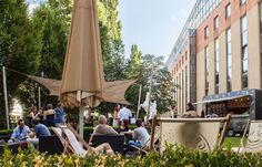 Sommer-Afterwork in Wien Urban City, Outdoor Decor, Vienna, Home Decor, City, Vacation, Lawn And Garden, Decoration Home, Room Decor