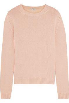 Miu Miu   Cashmere sweater   NET-A-PORTER.COM
