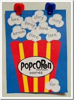 popcorn or words