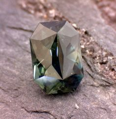 1.48ct Precision Cut Parti-Color Sapphire from Australia by FoothillsGems on Etsy https://www.etsy.com/listing/248368603/148ct-precision-cut-parti-color-sapphire
