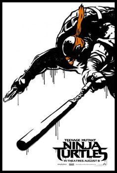 Brand new #tmnt poster Ninja Turtles 2014, Teenage Mutant Ninja Turtles, Ninja Turtles Pictures, Ninja Turtles Movie, Ninja Turtles Shredder, Michelangelo, Art Posters, Movie Posters, Movies 2014