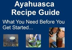 The Ayahuasca Recipe Guide video above provides an ayahuasca cooking process that it claims will take between five and ten hours to complete. This time frame does not include the fact that between Step 6 and Step 7, the recipe requires you to leave the liquids in a refrigerator overnight. So, if you decide to follow the process in this video, you will need at least two days to complete the preparation of the recipe before you have a drinkable ayahuasca brew.