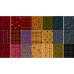 """Flannel Essentials 8 - 2.5"""" Strips - Buggy Barn - Henry Glass"""