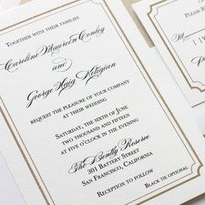Pineapple Wedding Invitation Affordable Thermography Wedding