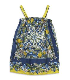 Dolce & Gabbana / Lemon Print Sundress