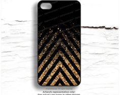 iPhone SE Case Metallic GOLD iPhone 6 Case Glow by HelloNutcase