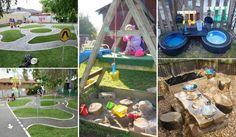 Eğlence ve çocuklar için Cool Play Into Space Backyard çevirin