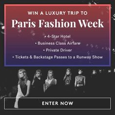 Just entered to win a luxury trip to #ParisFashionWeek... Fingers crossed! Enter now: https://cools.com/giveaways/paris-fashion-week