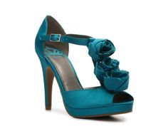 Fergalicious Christine Pump - Named after me!!! <3 I think these are *them* and they look like our bridesmaid gowns!
