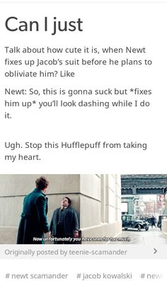 Newt Scamander has a special place in my heart
