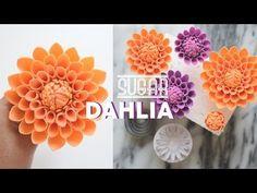 How to Make Gumpaste Parrot Tulip   Marian Studio - YouTube
