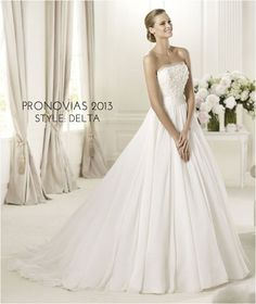 Wedding Gowns I Love: Pronovias 2013    I love the bottom of this dress!!!