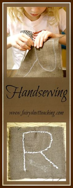 Finger Knitting and Sewing Like Elves!