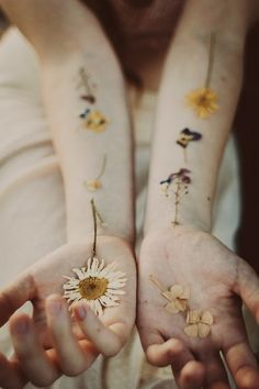 hipster floral tattoo - Google Search