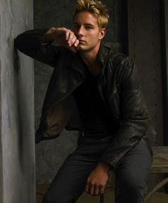 Justin Hartley as Trent Kalamack from The Hollows by Kim Harrison.