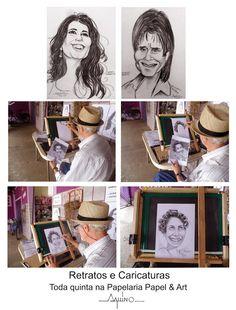 AQUINO: Portraits and Caricatures / Retratos e Caricaturas...