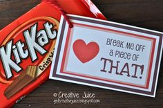 {PRINTABLE} Kit Kat Love Note