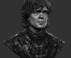 Game of Thrones Fan Art- The Imp, Frank Tzeng French History, Game Of Thrones Fans, 3d Face, Sketchbook Pages, Cg Art, 3d Artist, Tv Guide, Light And Shadow, Zbrush