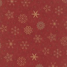 """Christmas Snowflakes Berry""-Delightful December by Sandy Gervais for Moda"