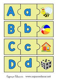 Jogo Pedagogico Educativo De Alfabetizacao Para Imprimir Colorido Som Inicial Alfabeto Espaco Educar Alfabetizacao Sons Iniciais Jogos Pedagogicos