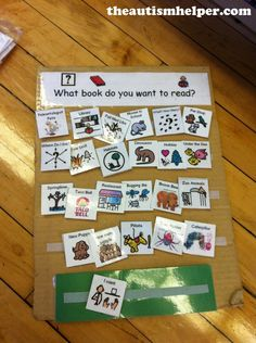 Adapted Books {Literacy Activities for Nonreaders} by theautismhelper.com