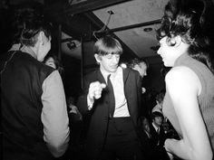 Ringo groovin' at the Peppermint Lounge NYC February 1964