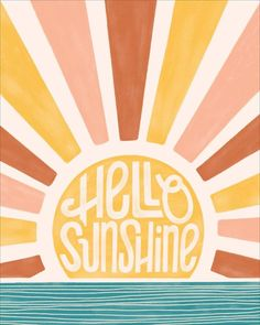 great names Hello sunshine! Wake up to a gorgeous sunrise over the water every morning with this design.<br><br>Designed right here at Paper Source.<br>Printed on Mohawk superfine white 13 Collage Foto, Collage Mural, Bedroom Wall Collage, Photo Wall Collage, Wall Art Collages, Quote Collage, Poster Collage, Wall Collage Decor, Photo Canvas