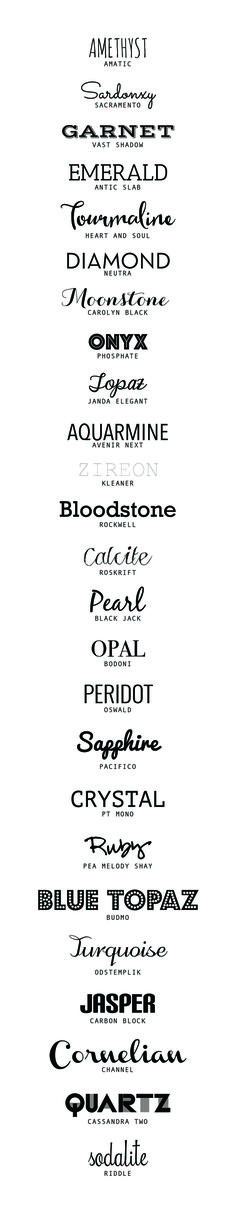 Best Free Font Roundup