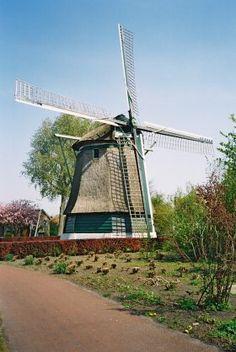 Flour mill De Lastdrager, Hoogwoud, the Netherlands.