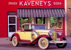 17412 -CHRYSLER - Chrysler 1931 - Sport Roadster - Kaveneys*    - 41x29-