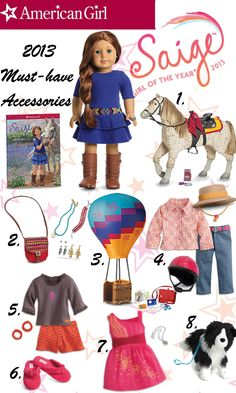 2013 American Girl Doll Of The Year- Saige Copeland {GIVEAWAY!}