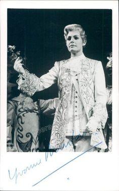 Star Australian mezzo-soprano Signed photo shown as Octavian in Strauss' Der Rosenkavalier. Size x inches, in very good condition. Richard Strauss, Mezzo Soprano, Opera Singers, Period Dramas, Classical Music, Orchestra, Singing, Statue, Celebrities