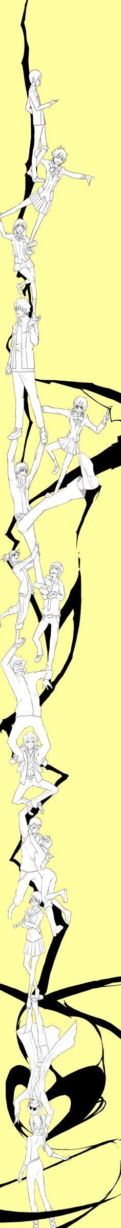 Tags: Anime, BLEACH, Kurosaki Ichigo, Kuchiki Rukia, Inoue Orihime