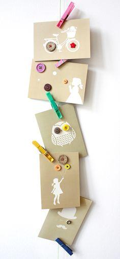 knopfkarten / www.luft-linie.at