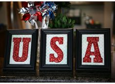 These say USA but you could really spell anything.