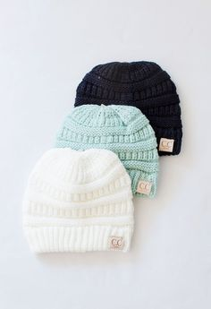 Keep your kids warm and in style with these adorable beanies!