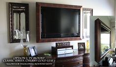 flat screen tv in frame - Google Search