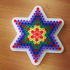 Star perler beads by rfsuvasteras