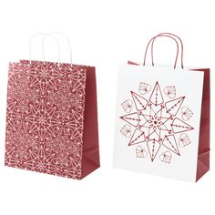 10 must-have holiday wrapping essentials Ikea Kids, Paper Shopping Bag, Must Haves, Wraps, Essentials, Diy Projects, Holiday, Christmas, House Styles