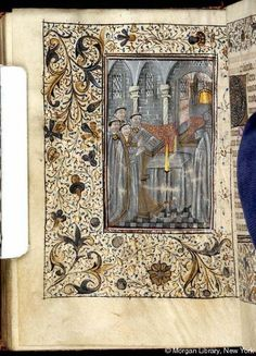 Book of Hours, MS M.25 fol. 137v - Images from Medieval and Renaissance Manuscripts - The Morgan Library & Museum
