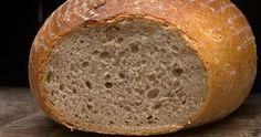 Tento chléb je vhodný pro kváskové začátečníky, tím samozřejmě nechci snižovat jeho chuť nebo kvalitu:-)). Často se k němu vracím.... Recipies, Bread, Food, Diets, Recipes, Meal, Rezepte, Essen, Breads