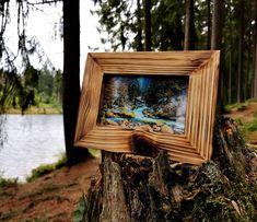 Frame, Etsy Shop, Home Decor, Photo Frame Ideas, Craft Gifts, Handmade, Dekoration, Nature, Picture Frame