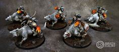 Space Wolves War Hounds Army